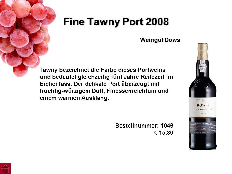 Fine Tawny Port 2008 Weingut Dows