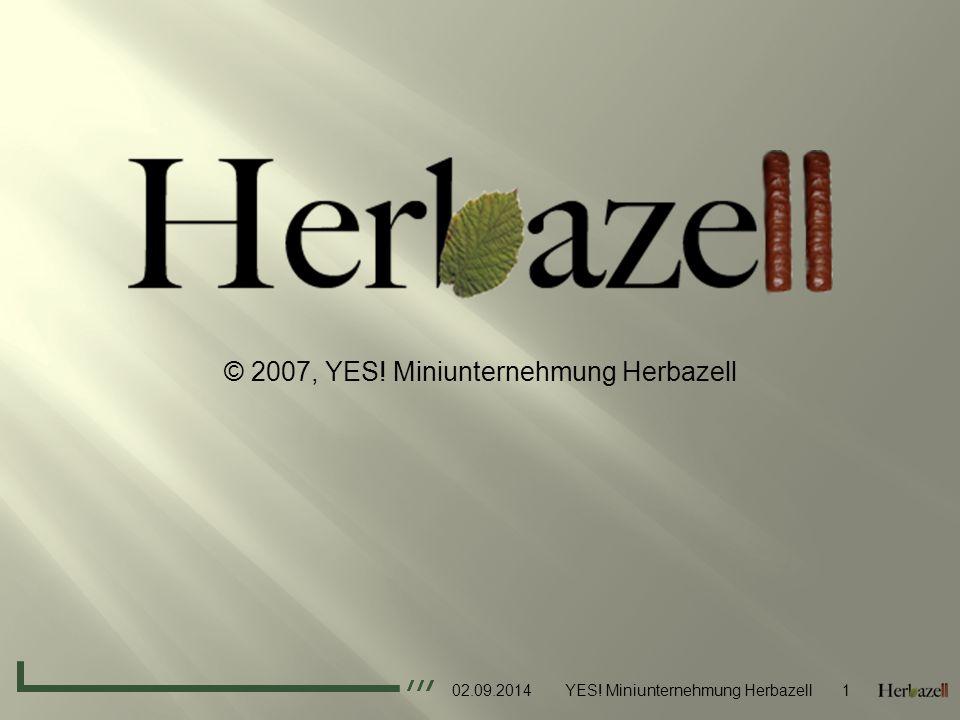 © 2007, YES! Miniunternehmung Herbazell