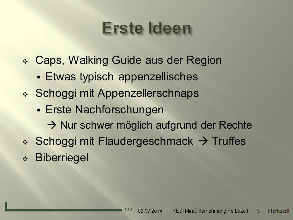 Erste Ideen Caps, Walking Guide aus der Region