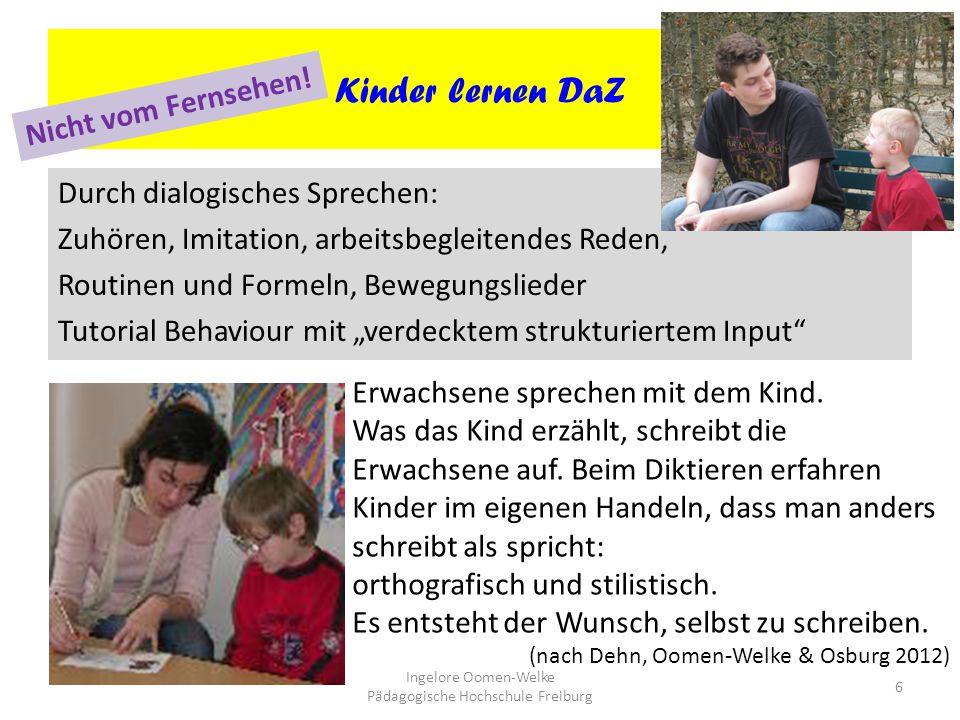 Ingelore Oomen-Welke Pädagogische Hochschule Freiburg
