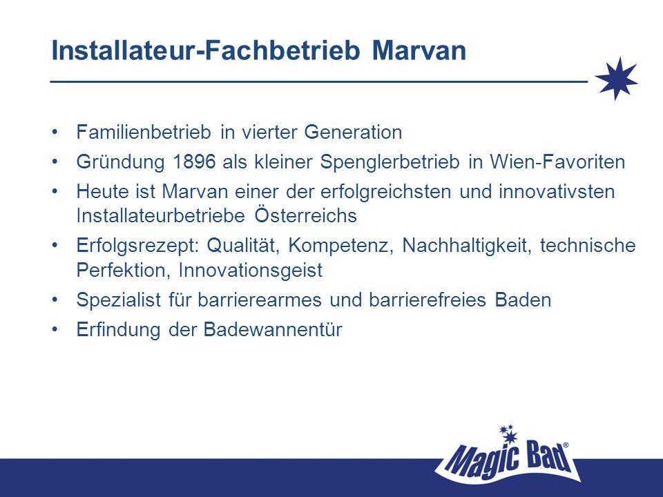 Installateur-Fachbetrieb Marvan