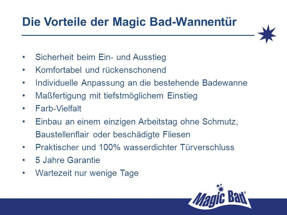 Die Vorteile der Magic Bad-Wannentür