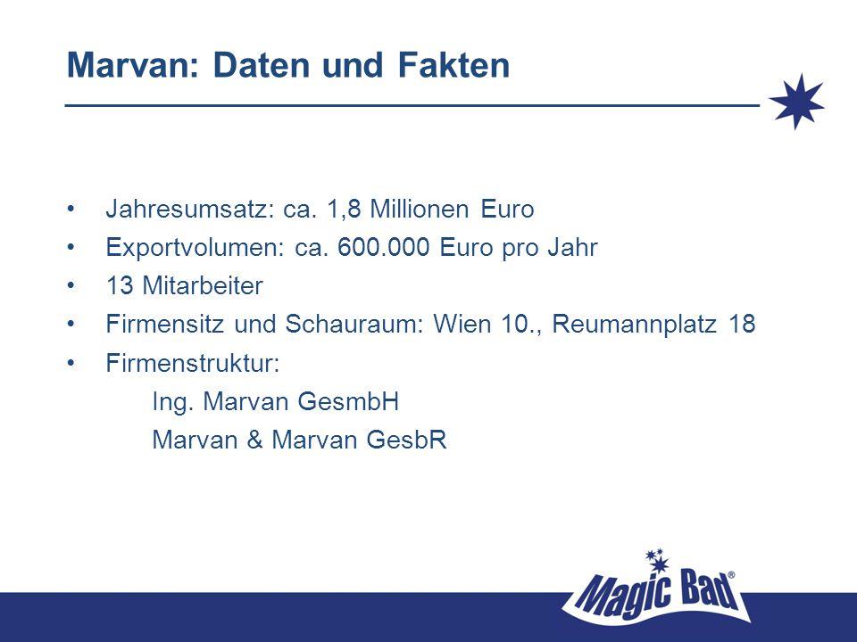 Marvan: Daten und Fakten