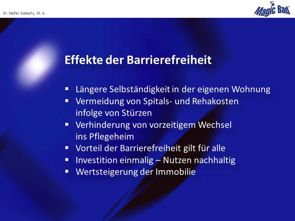 Effekte der Barrierefreiheit