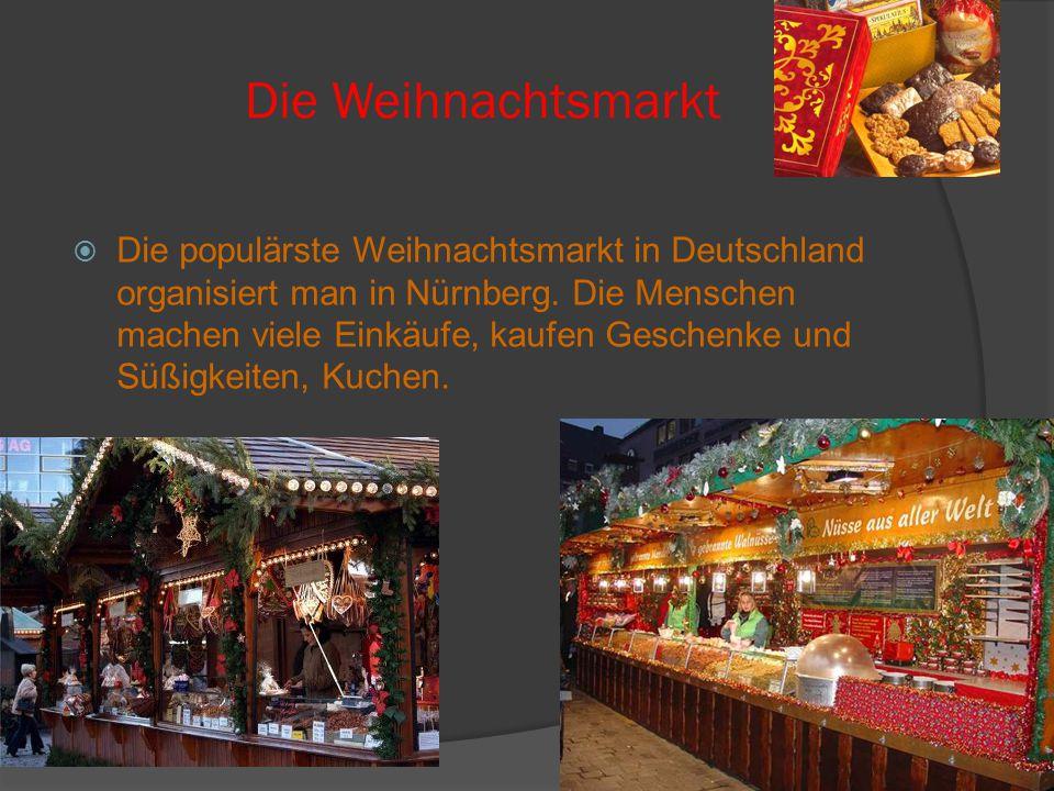 Die Weihnachtsmarkt
