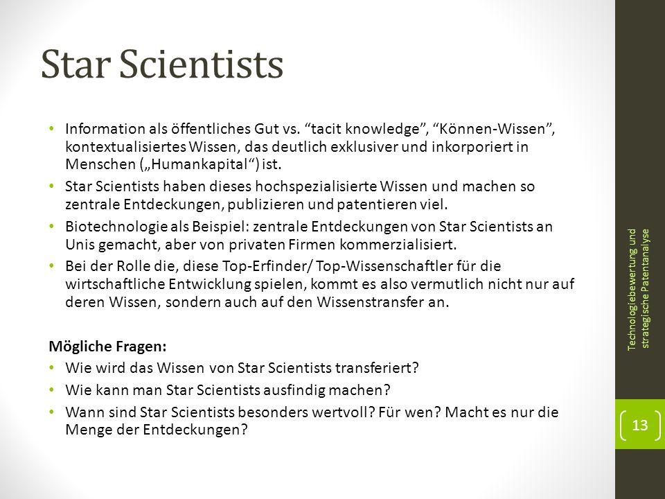 Star Scientists