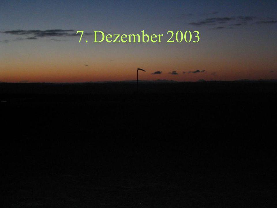 7. Dezember 2003