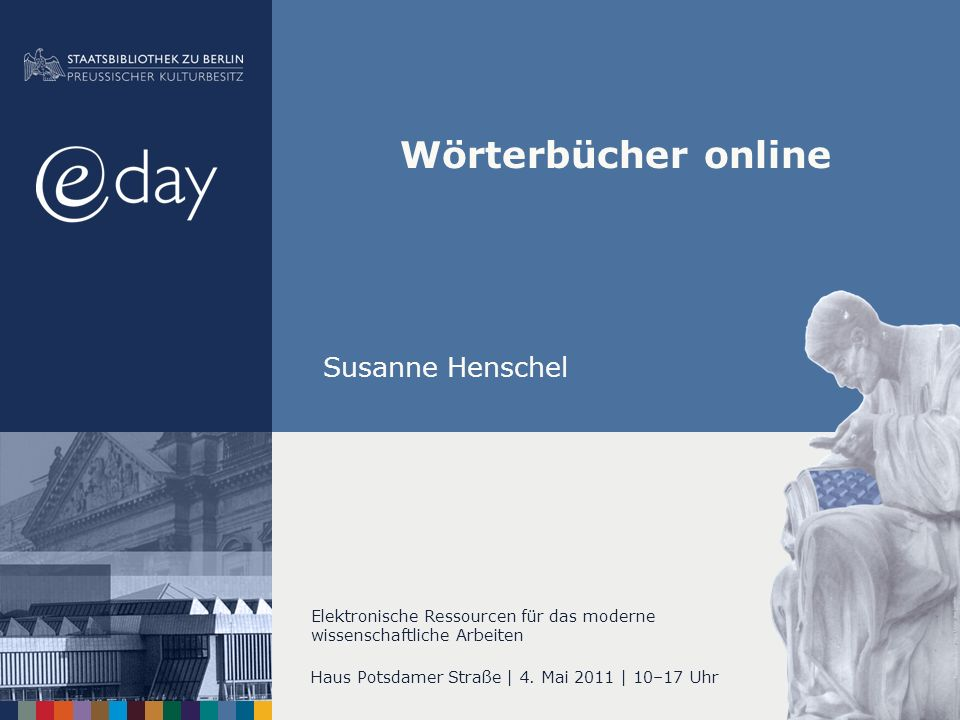 Haus Potsdamer Straße | 4. Mai 2011 | 10–17 Uhr