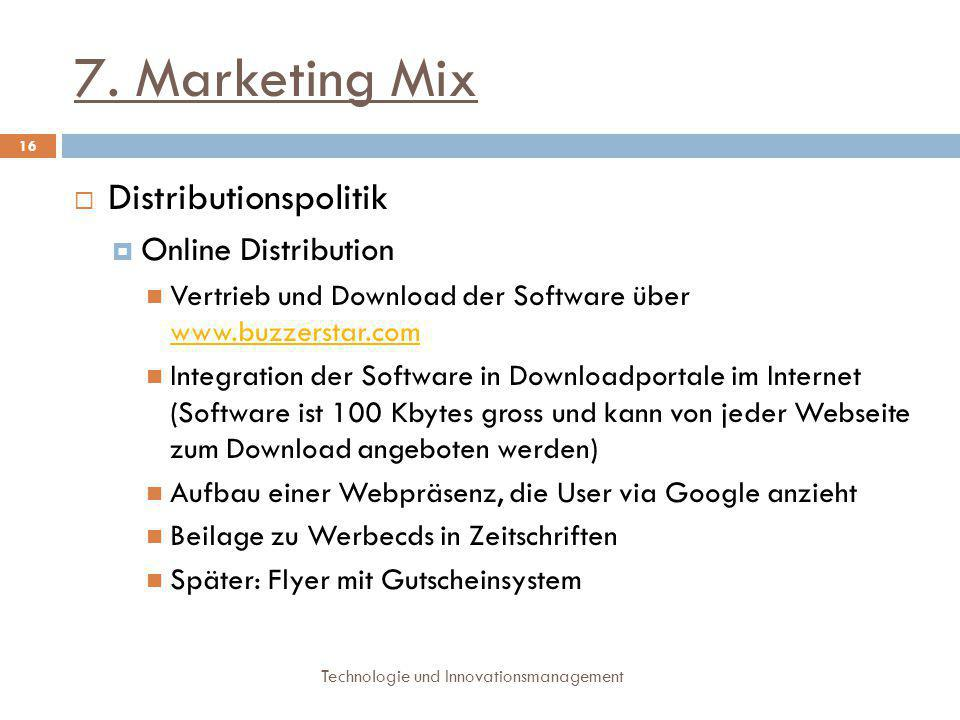 7. Marketing Mix Distributionspolitik Online Distribution