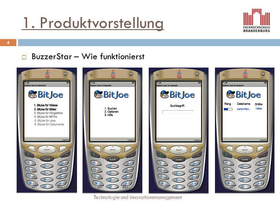 1. Produktvorstellung BuzzerStar – Wie funktionierst