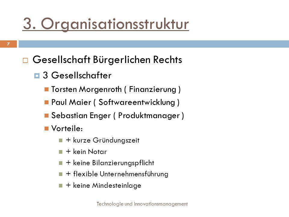 3. Organisationsstruktur