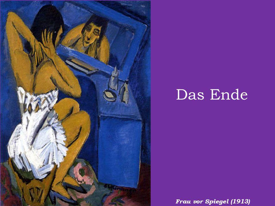 Das Ende Frau vor Spiegel (1913)