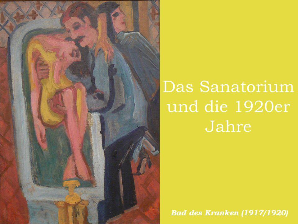 Das Sanatorium und die 1920er Jahre