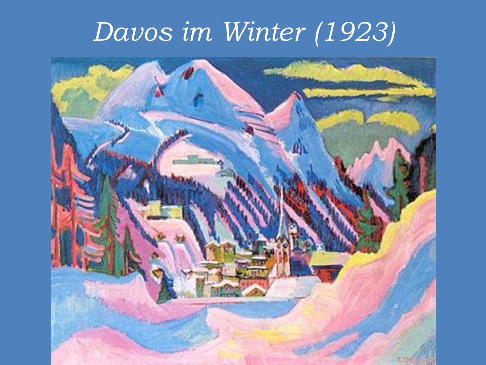 Davos im Winter (1923)