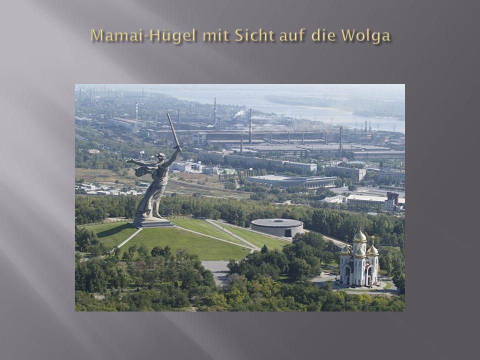 Mamai-Hügel mit Sicht auf die Wolga