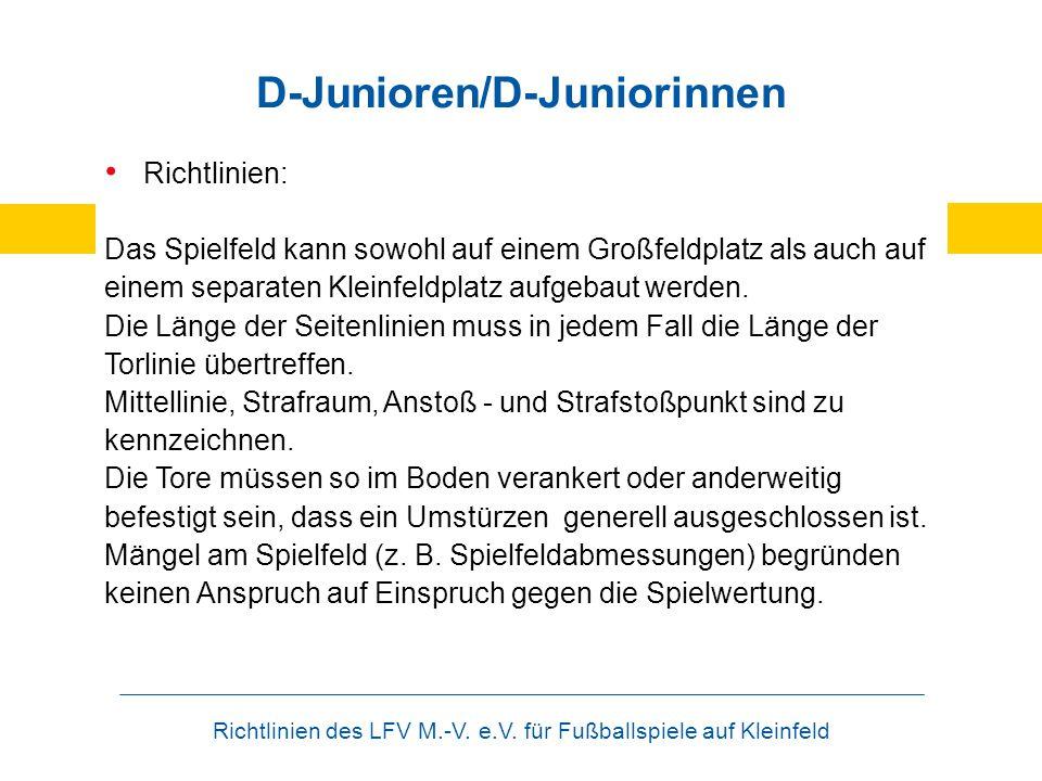 D-Junioren/D-Juniorinnen