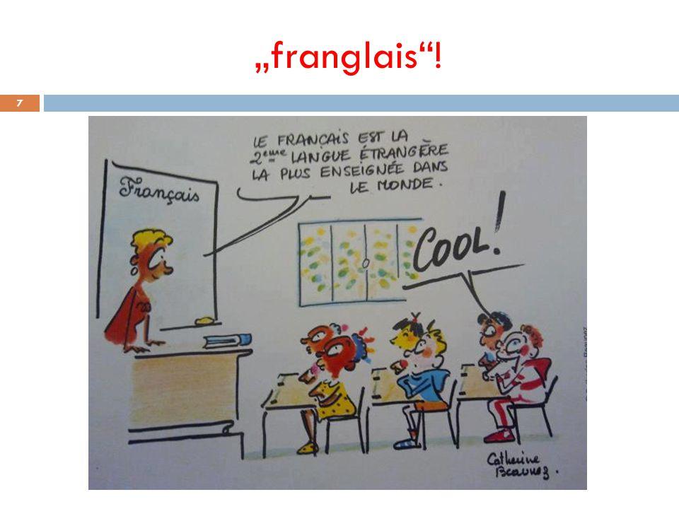 """""""franglais !"""