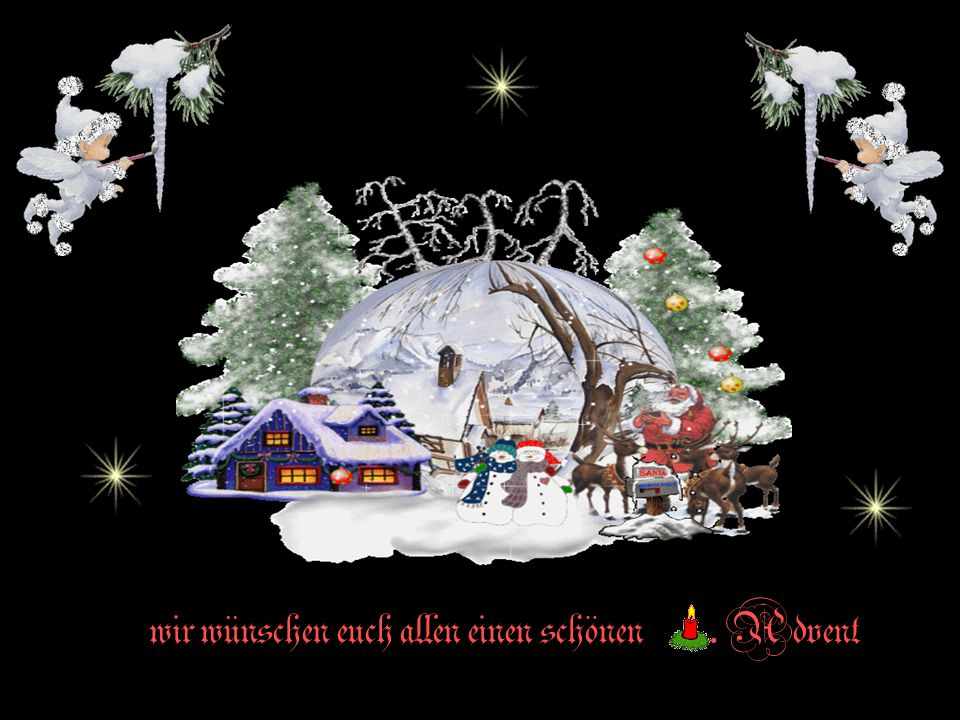 wir wünschen euch allen einen schönen . Advent