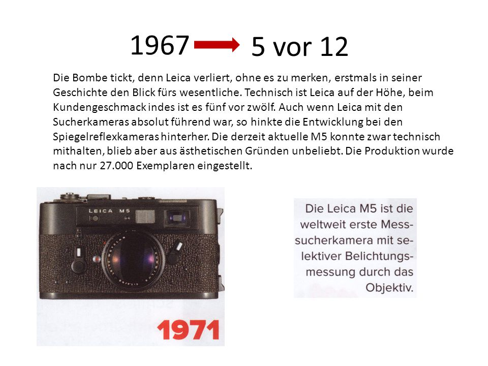 1967 5 vor 12.