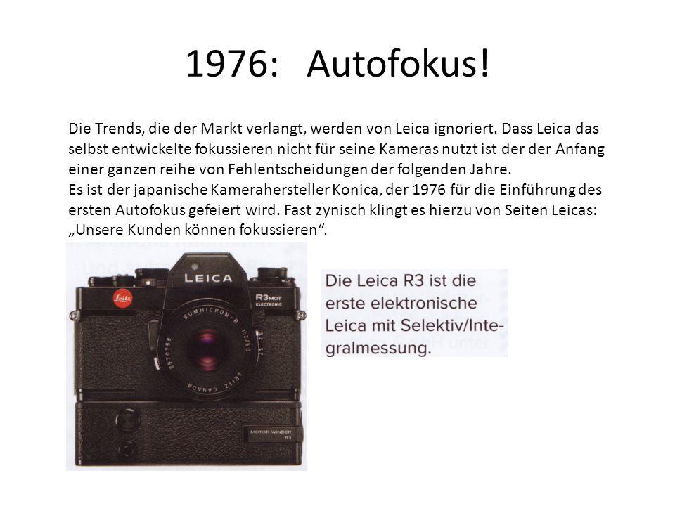 1976: Autofokus!