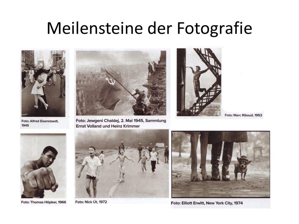 Meilensteine der Fotografie