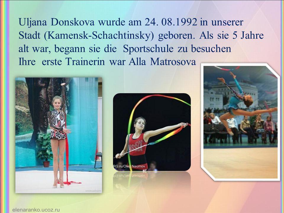 Uljana Donskova wurde am 24. 08