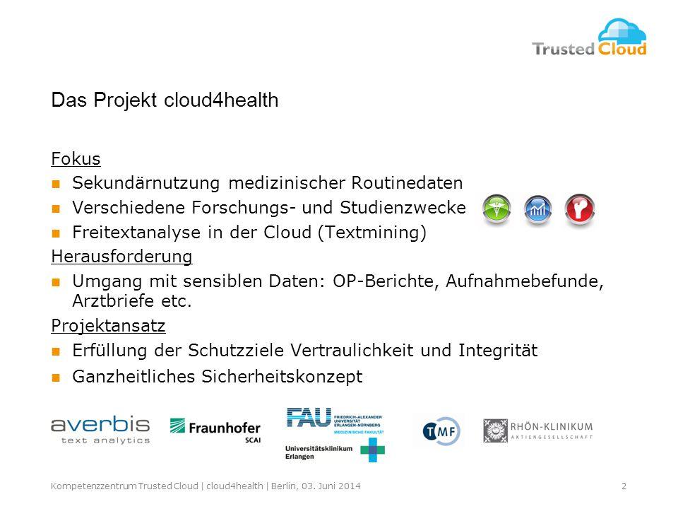 Das Projekt cloud4health