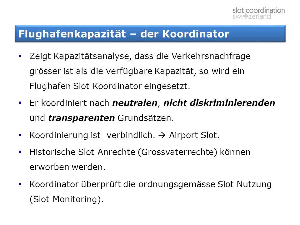 Flughafenkapazität – der Koordinator