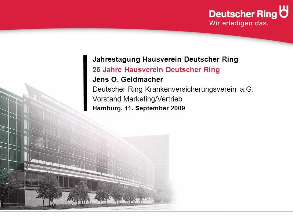 Jahrestagung Hausverein Deutscher Ring