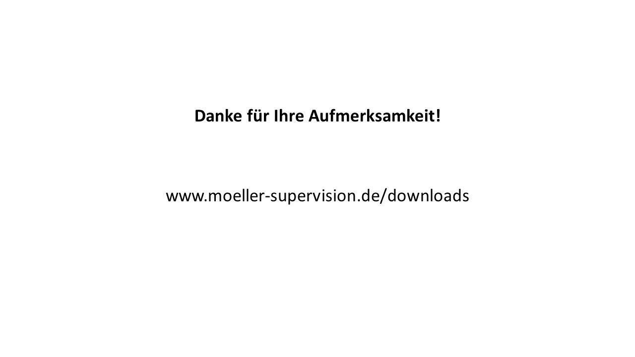 Danke für Ihre Aufmerksamkeit! www.moeller-supervision.de/downloads