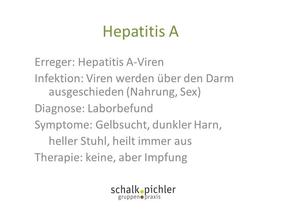 Hepatitis A Erreger: Hepatitis A-Viren
