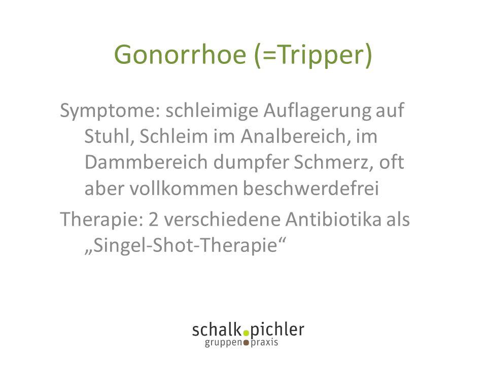 Gonorrhoe (=Tripper)