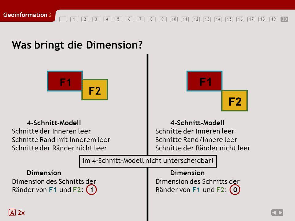 F1 F2 Was bringt die Dimension F1 F2 Dimension