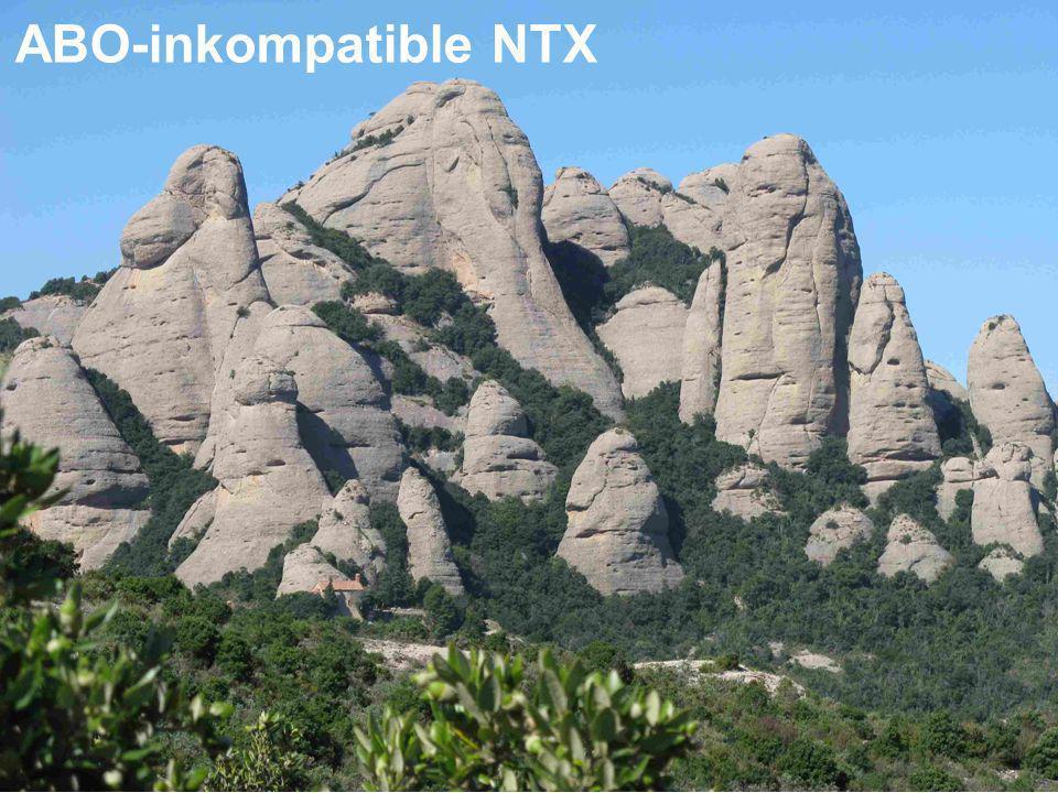 ABO-inkompatible NTX