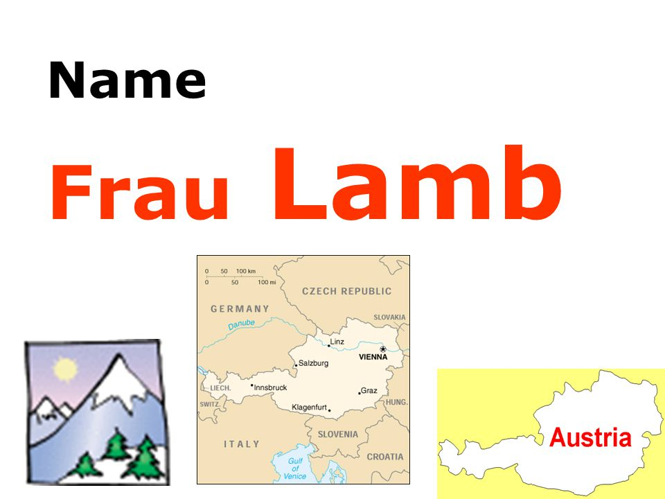 Name Frau Lamb