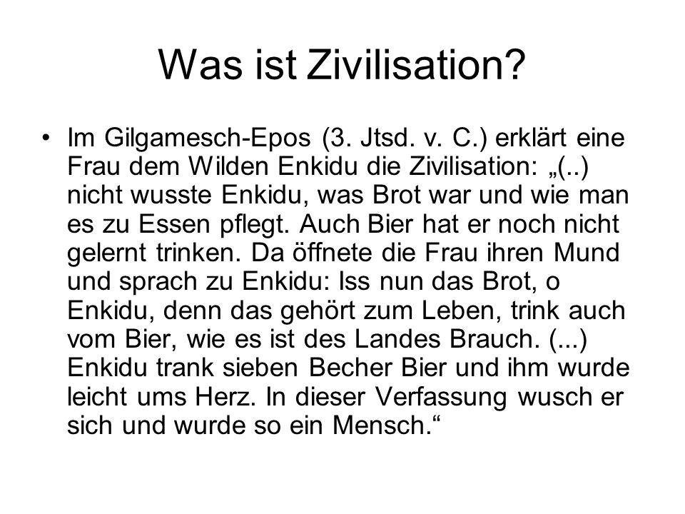 Was ist Zivilisation