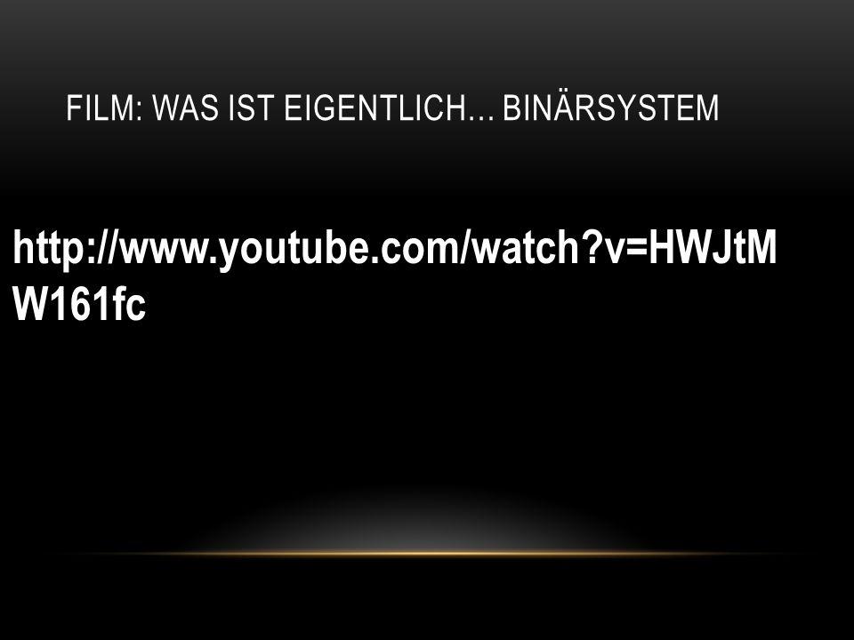 Film: Was ist eigentlich… Binärsystem