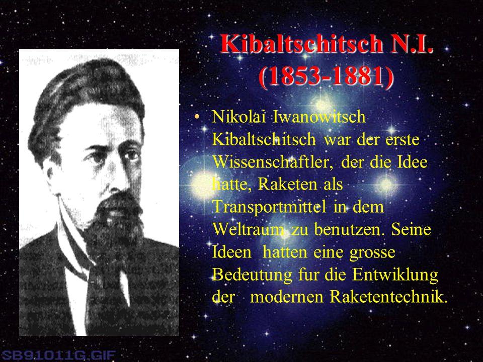 Kibaltschitsch N.I. (1853-1881)