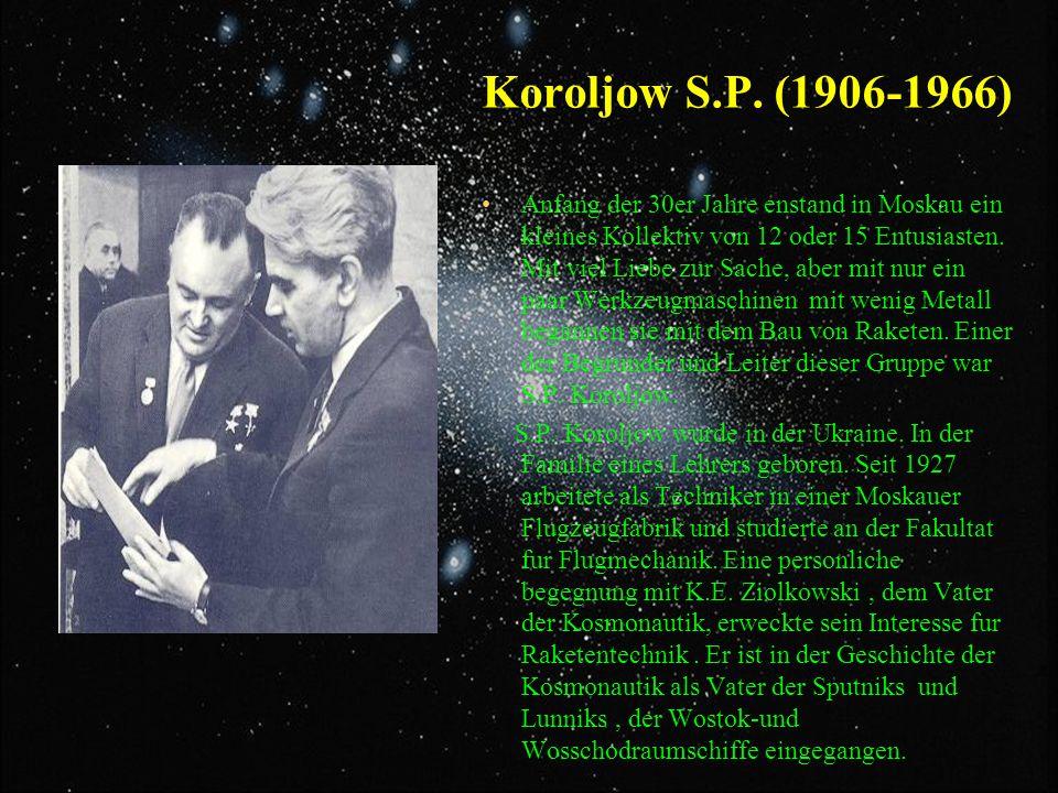 Koroljow S.P. (1906-1966)