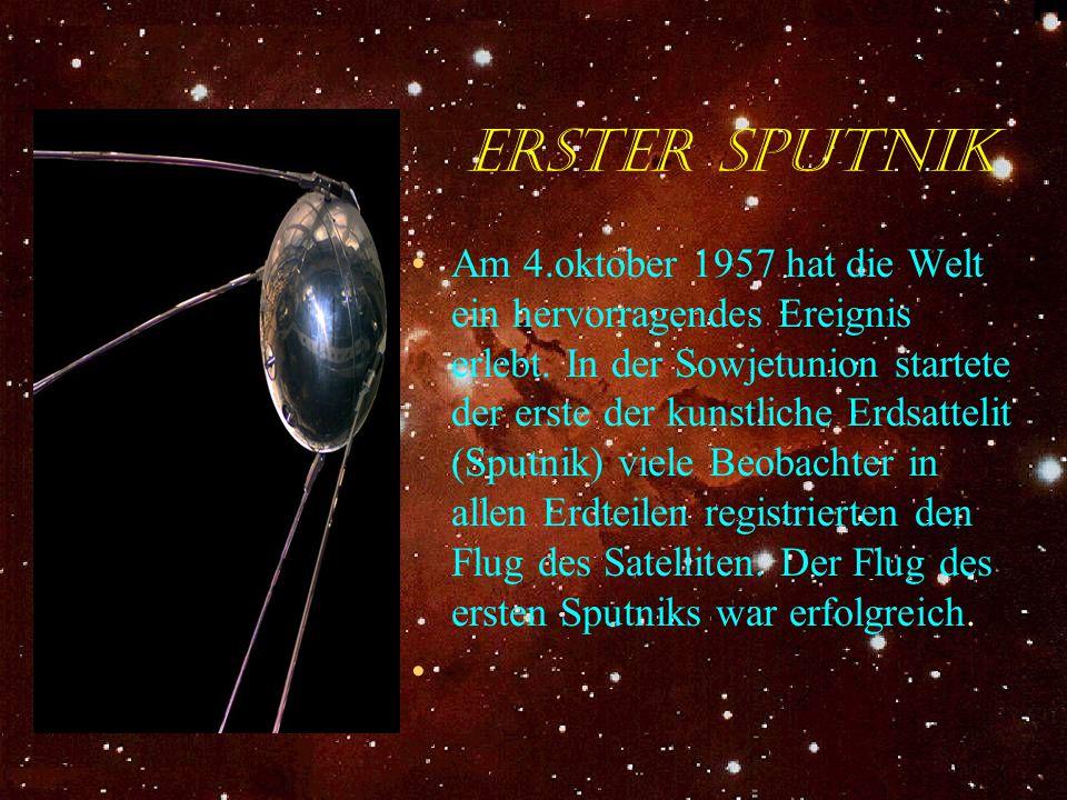 Erster Sputnik