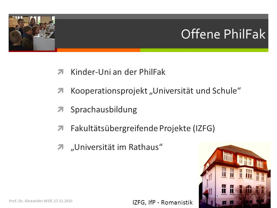 Offene PhilFak Kinder-Uni an der PhilFak