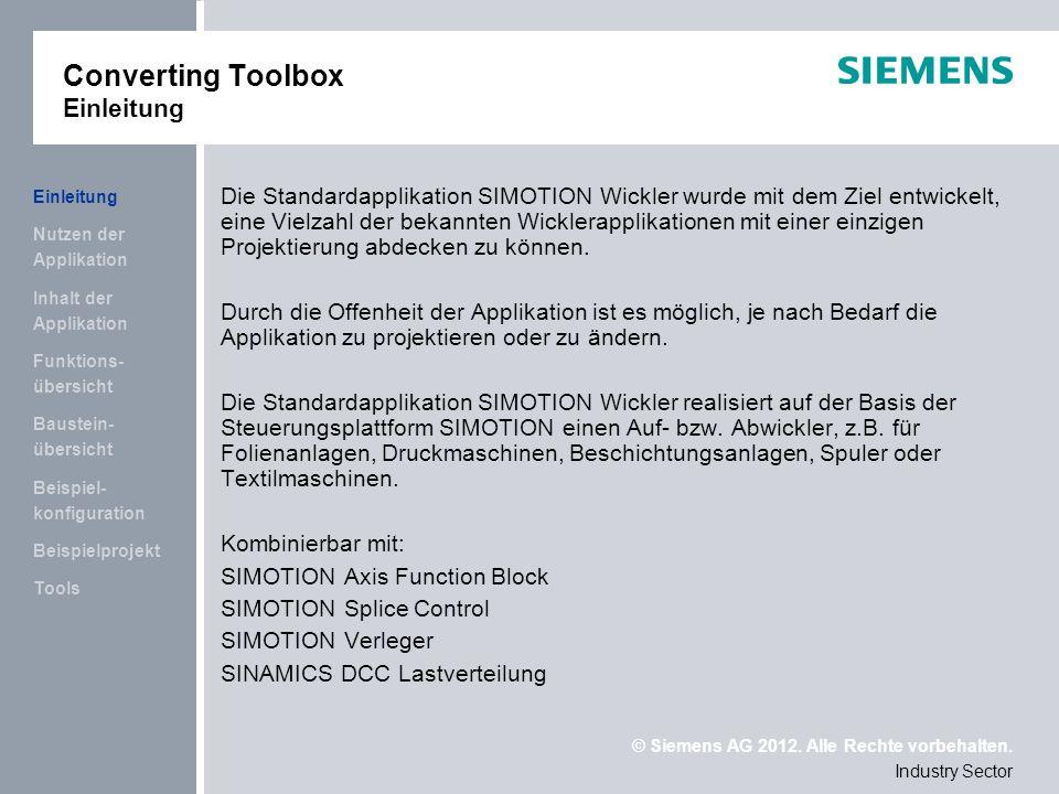 Converting Toolbox Einleitung