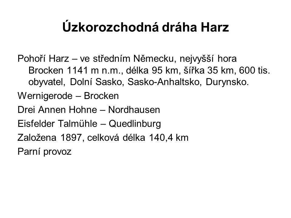 Úzkorozchodná dráha Harz