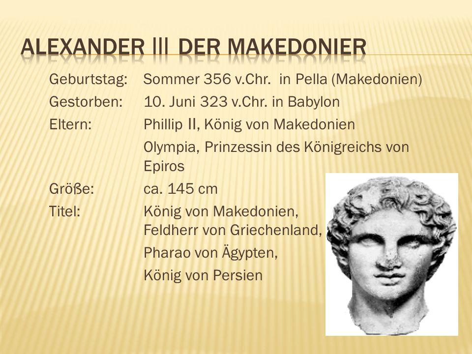 Alexander III der Makedonier