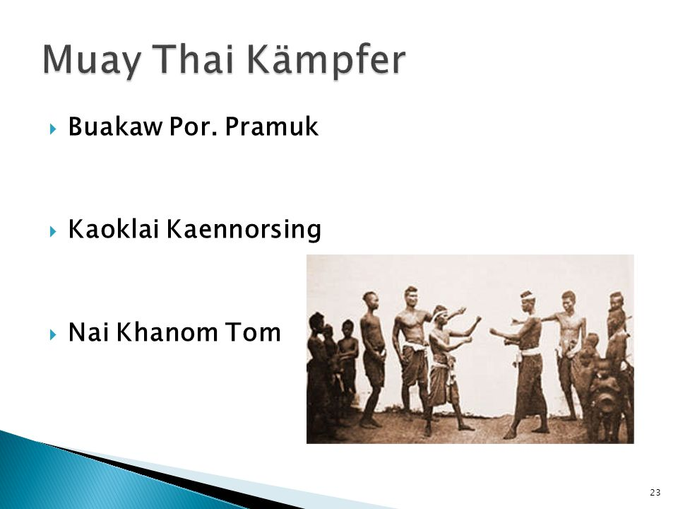 Muay Thai Kämpfer Buakaw Por. Pramuk Kaoklai Kaennorsing