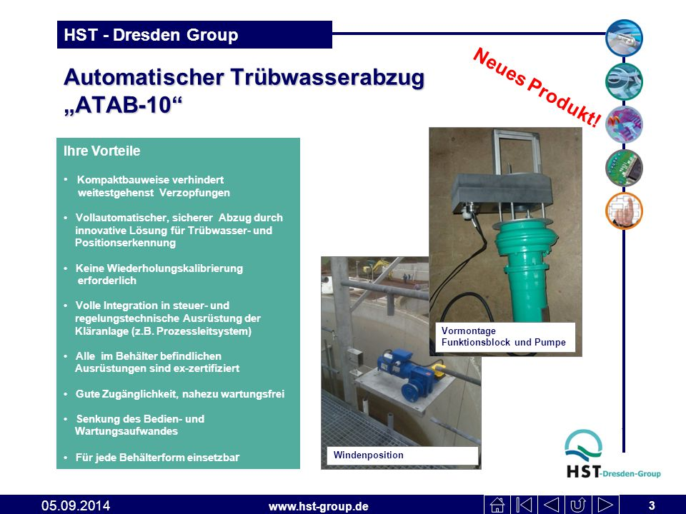 "Automatischer Trübwasserabzug ""ATAB-10"