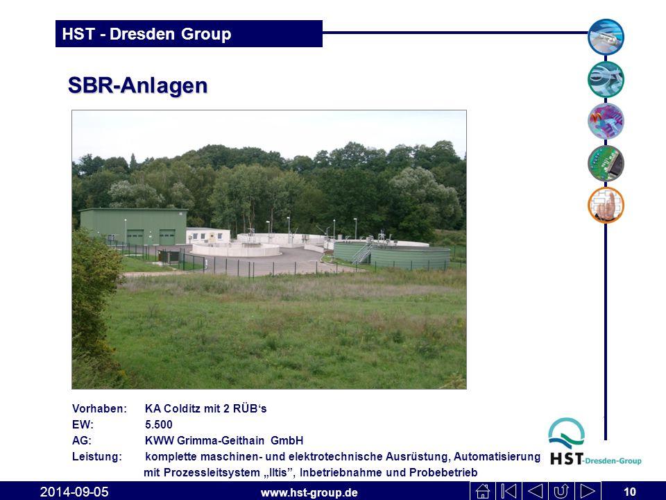 SBR-Anlagen 2017-04-06 Vorhaben: KA Colditz mit 2 RÜB's EW: 5.500
