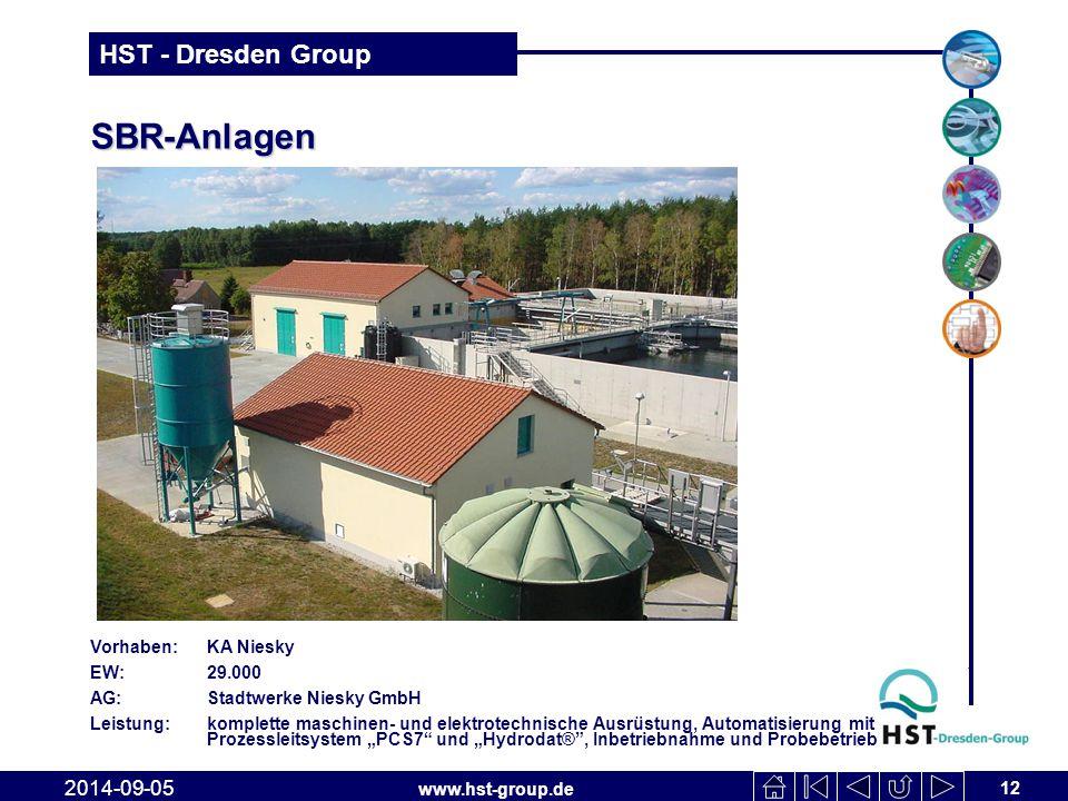 SBR-Anlagen 2017-04-06 Vorhaben: KA Niesky EW: 29.000