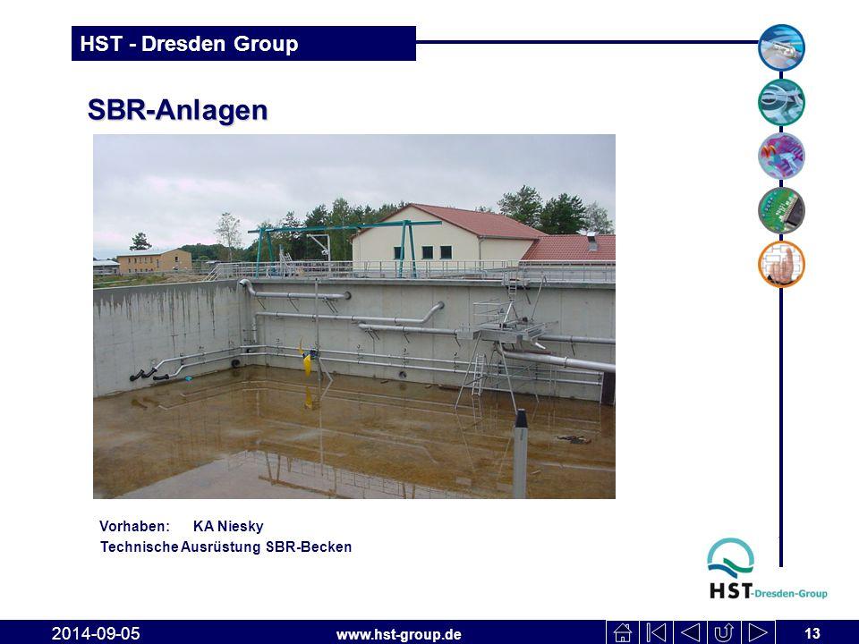 SBR-Anlagen 2017-04-06 Vorhaben: KA Niesky