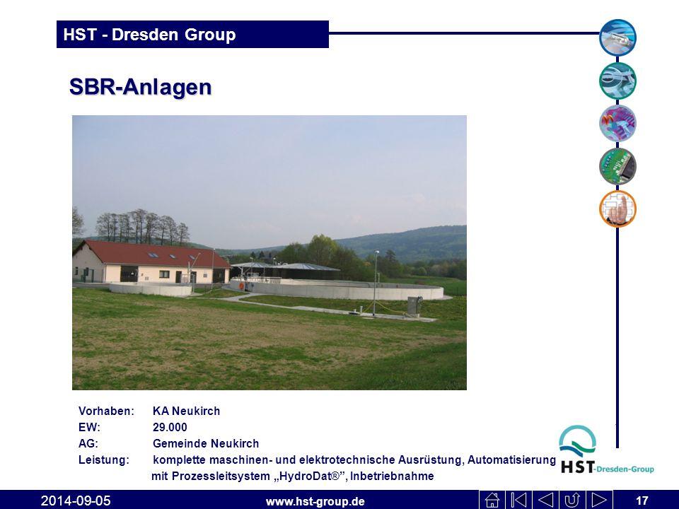 SBR-Anlagen 2017-04-06 Vorhaben: KA Neukirch EW: 29.000